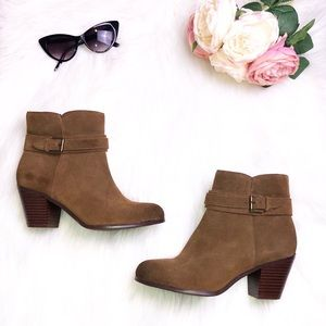 Sam Edelman Lynne Suede Ankle Boots/Booties